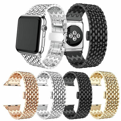 New Stainless Steel Watch Bands Strap For Apple Watch iWatch Series3 2/1 42/38mm