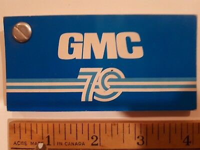 1979 GMC Truck  - Original Color Chip Deck - Exterior Paint Samples (CDN)