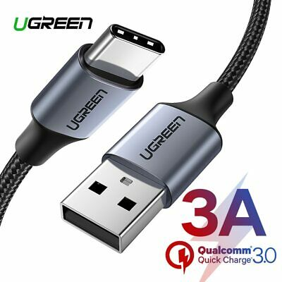 Ugreen Type C Data Cable USB C 3A Fast Charging Cable for most of Type C devices