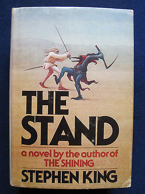 THE STAND - SIGNED by STEPHEN KING to Film Critic DAVID CHUTE  1st Ed 1st Printi