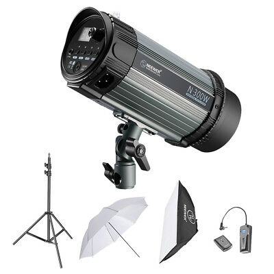 Neewer 300W Kit d'Eclairage Flash de Studio Strobobscope Monolight