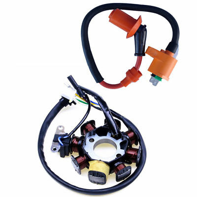 125cc Magneto Stator Ignition Coil CDI for Motorcycle Dirt Pit Bike Motorcylce