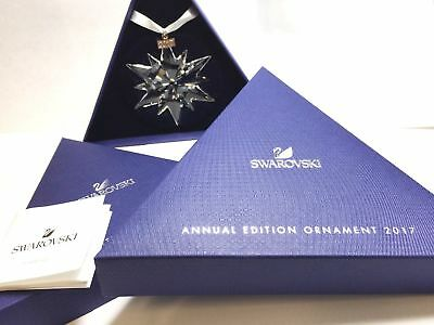 2017 SWAROVSKI Annual Edition Large Christmas Ornament Crystal