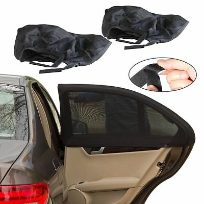 Best Universal Car Window Sun Shade (2 Pcs Pack) UV Protection - Fits all Cars