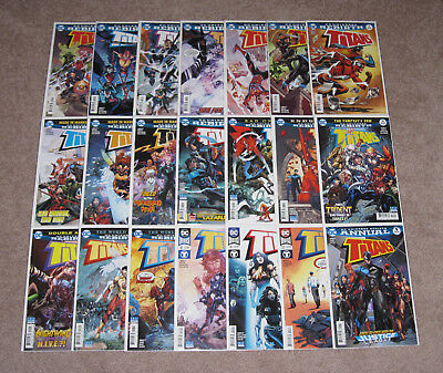 DC Rebirth Titans (2016) #1-20 + Annual #1 Run NM