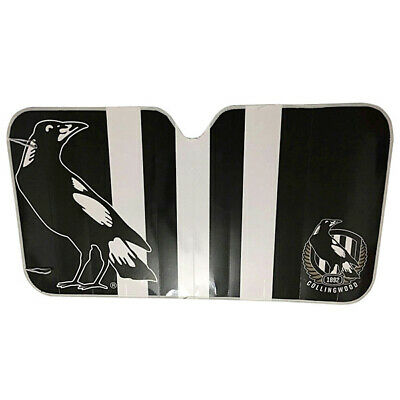NEW Collingwood Magpies Car Windscreen Sunshade