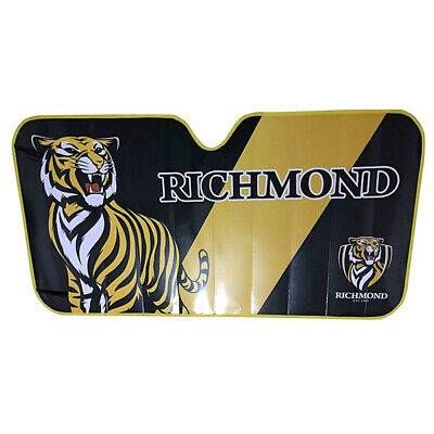 NEW Richmond Tigers Car Windscreen Sunshade