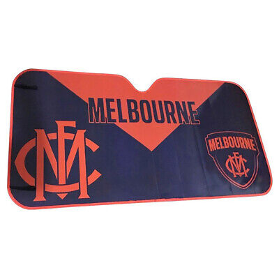 NEW Melbourne Demons Car Windscreen Sunshade