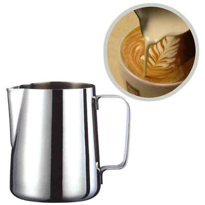 Well Stainless Steel Milk Craft Coffee Latte Frothing Art Jug Pitcher Mug Cup