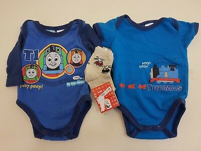 premmie baby boy size 0000 thomas the tank engine outfits