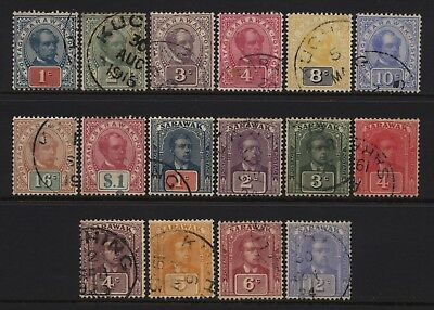 Sarawak Collection 16 Early Values Used