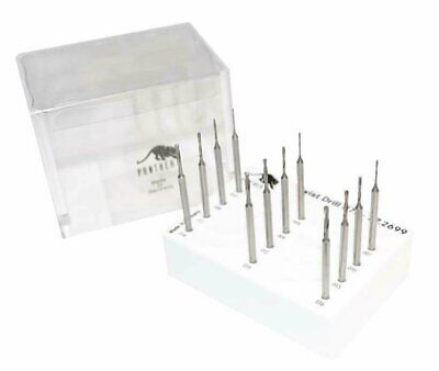 12 Piece Panther® Twist Drill Set Sizes 0.50 to 1.60 MM Jewelry Making Tools