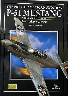SAM Publications MDF21 - P-51 Mustang, Part 1 Allison Powered -  (Book)