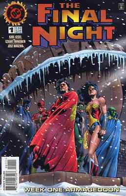 Final Night #1-4 Very Fine / Near Mint Complete Set 1996 Dc Comics Mn-106