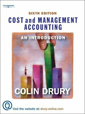 Cost and management accounting: an introduction by Colin Drury (Paperback)