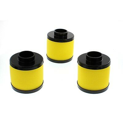 3 Pack Air Filter Cleaner Elements  for Honda Rincon TRX650 2003-2005