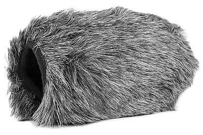 Movo WS-AM30 Furry Microphone Windscreen Muff Custom Fit for Azden SMX-30