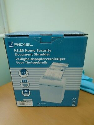 Classic REXEL HS.80 Home Security Document Shredder - Boxed