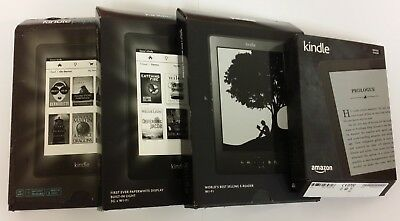 Amazon Kindle eBook Reader - kindle, kindle PaperWhite, touch, PaperWhite 3G