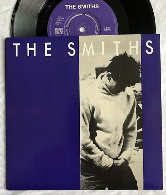 """The Smiths -How Soon Is Now- Original UK 7"""" 4 Prong Centre + Pic Sleeve (Vinyl)"""