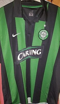 (Worn) Celtic Away Shirt SIZE Large 2006-2008 SEASON