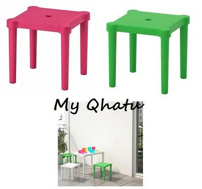 Awesome Ikea Utter Childrens Stool White Plastic Indoor Outdoor Onthecornerstone Fun Painted Chair Ideas Images Onthecornerstoneorg