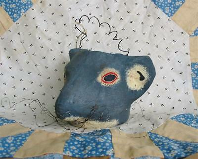 Cody Foster Vintage Style Small Rat Mouse Jack O'Lantern Paper Mache New