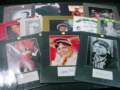 NobleSpirit NO RESERVE {3970}Incredible Selection of Celebrity Autographs