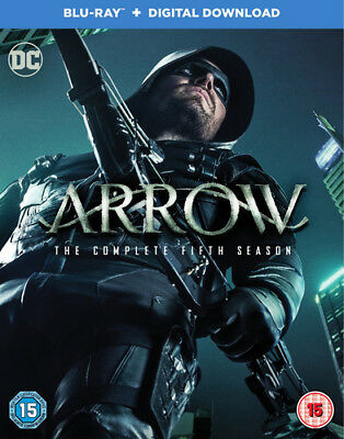 Arrow: The Complete Fifth Season Blu-Ray (2017) Stephen Amell ***NEW***