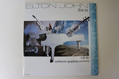 Elton John: Live In Australia ( Double LP / Mint )