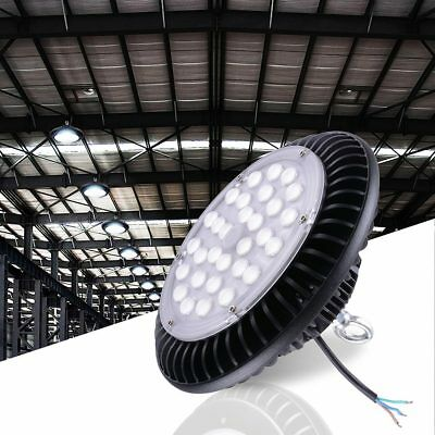 DELight® 100W UFO LED High Bay Light Lamp 12000lm Commercial Factory Warehouse