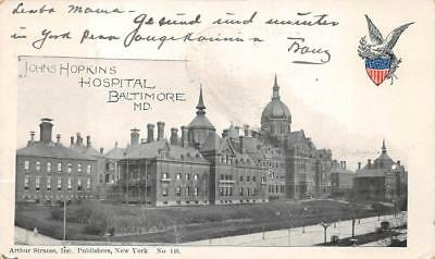 JOHNS HOPKINS HOSPITAL North Broadway Baltimore Maryland MD