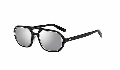 4ef9f860c9 Authentic Christian Dior Homme AL 13.14 0P5I DC Matte Black Palladium  Sunglasses