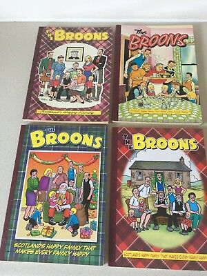 Job Lot of 4 'THE BROONS' Comic Books - 1995 to 2007