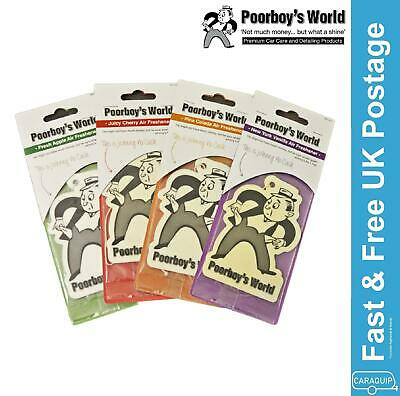 Poorboys Hanging Air Freshener Cherry - Twin Pack