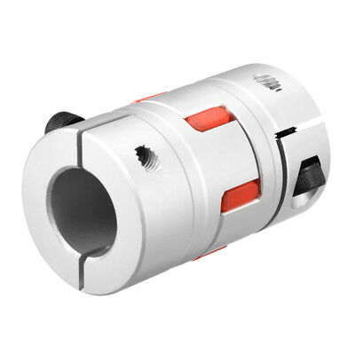 Shaft Coupling 20mm to 20mm Bore L66xD40 Flexible Coupler Joint for Servo Motor