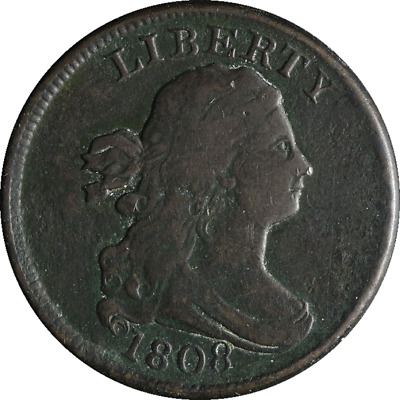 1808 Half Cent Great Deals From The Executive Coin Company