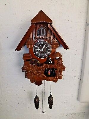 Very Large Battery Powered Cuckoo Clock in Good Working Order (Hospiscare)
