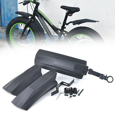 Snow Bicycle Bike Front Rear Mud Guard Fenders For 26 MTB Cycling