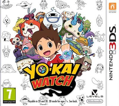 Yo-Kai Watch (3DS)  BRAND NEW AND SEALED - IN STOCK - QUICK DISPATCH