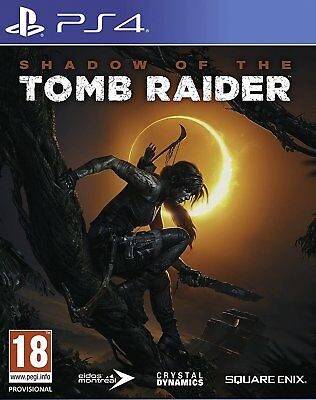 Shadow of the Tomb Raider - Day One Edition (PS4)  NEW AND SEALED - IMPORT