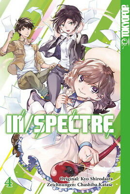 In/Spectre  Band 4 Tokyopop Manga