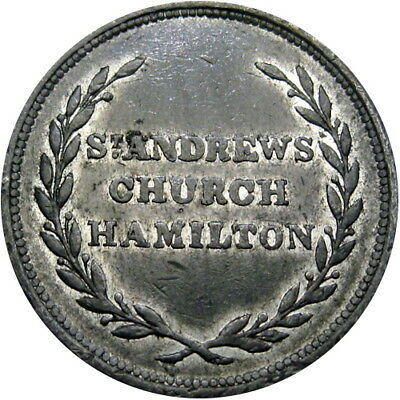 Hamilton Ontario Canada West Communion Token St Andrews Church