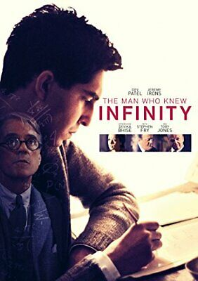 The Man Who Knew Infinity [Includes Digital Download] [DVD] [2016] -  CD XCLN