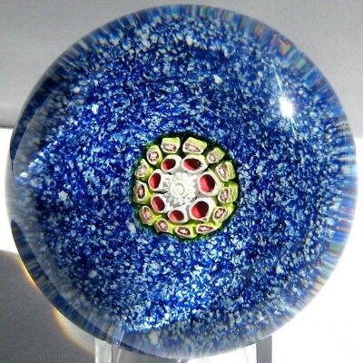 Briefbeschwerer / Paperweight ST. LOUIS ANTIK Millefiori on Jasper Ground