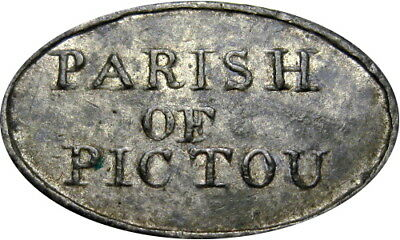 1810 Pictou Nova Scotia Canada Communion Token