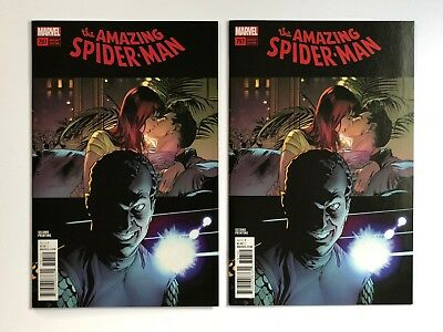 AMAZING SPIDER-MAN #797 2nd Print - 2 COPIES - Alex Ross Variant Red Goblin NM