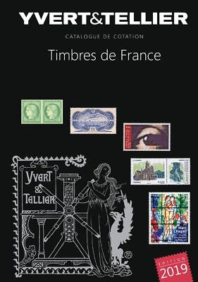 Catalogue Yvert et Tellier Tome 1 France 2019