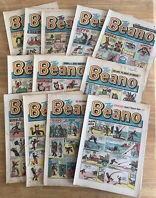 THE BEANO COMIC 1961 x 12 Issues End of Summer Sale