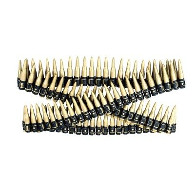 """60"""" Plastic Toy Ammo Bullet Belt Bandolier Cowboy Army Soldier Costume Accessory"""